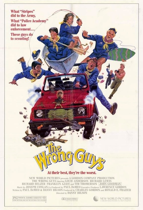 The Wrong Guys Film Poster