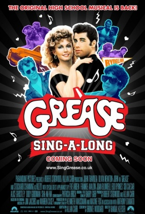 Grease: Sing-A-Long Film Poster
