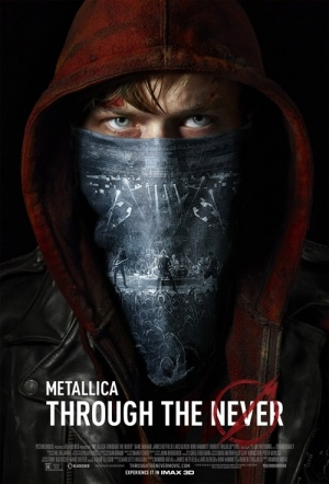 Metallica: Through the Never 3D Film Poster