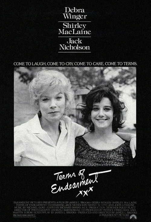Terms of Endearment Film Poster