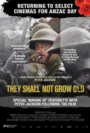 They Shall Not Grow Old: Extended Edition Film Poster