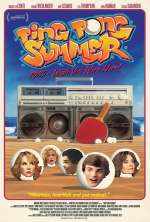 Ping Pong Summer Film Poster