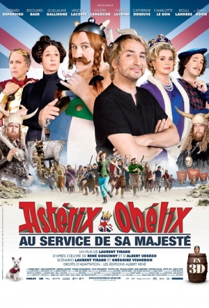 Astérix and Obélix: God Save Britannia Film Poster