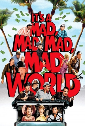 It's a Mad, Mad, Mad, Mad World Film Poster