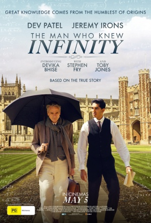The Man Who Knew Infinity Film Poster