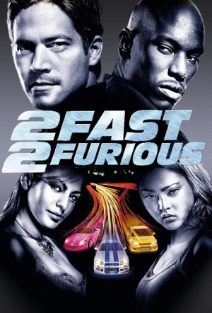 2 Fast 2 Furious Film Poster