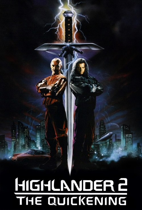 Highlander II: The Quickening Film Poster