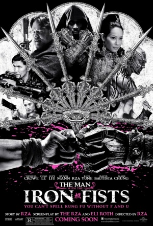 The Man with the Iron Fists Film Poster