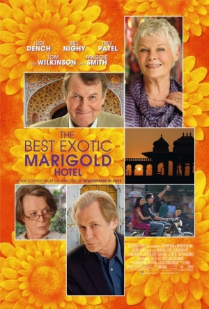The Best Exotic Marigold Hotel Film Poster