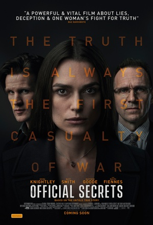 Official Secrets Film Poster