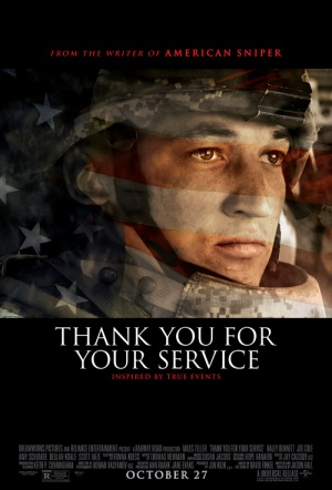 Thank You for Your Service Film Poster