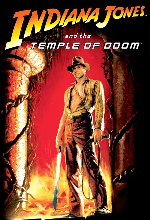 Indiana Jones and the Temple of Doom Film Poster