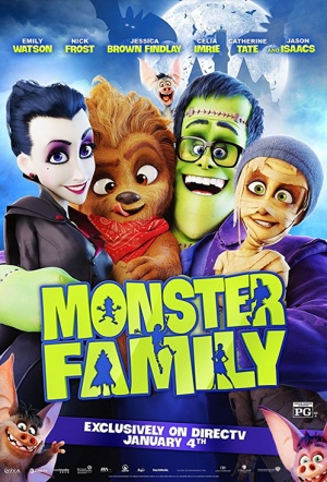 Monster Family 3D Film Poster
