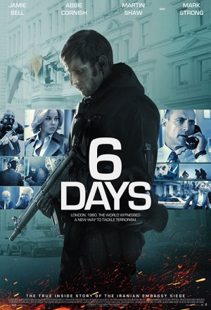 6 Days Film Poster