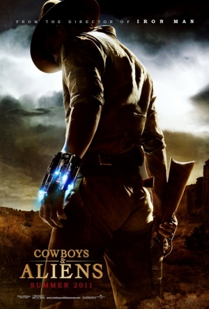 Cowboys & Aliens Film Poster