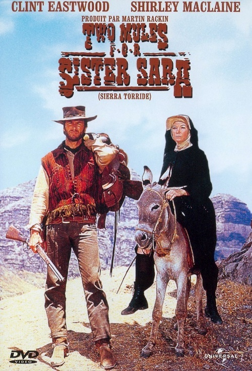 Two Mules For Sister Sara Film Poster