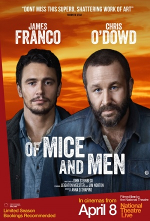 NT Live: Of Mice and Men Film Poster
