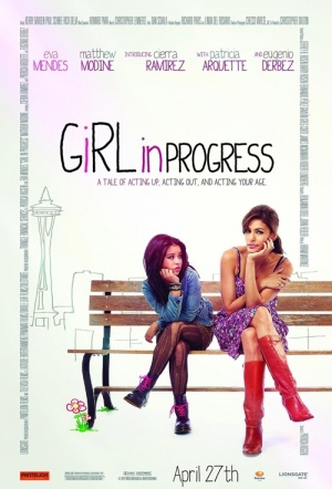 Girl in Progress Film Poster