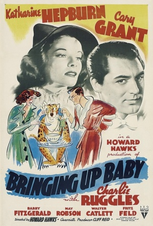 Bringing Up Baby Film Poster