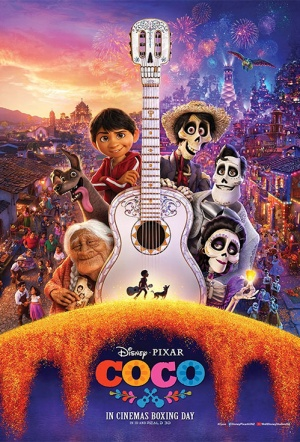 Coco 3D Film Poster