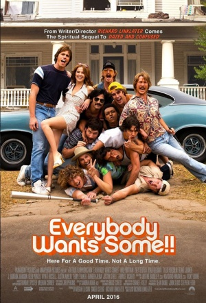 Everybody Wants Some!! Film Poster