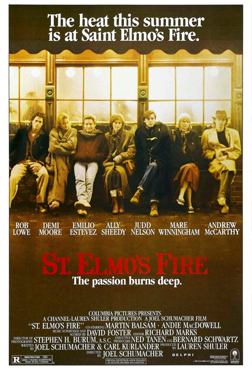 St. Elmo's Fire Film Poster