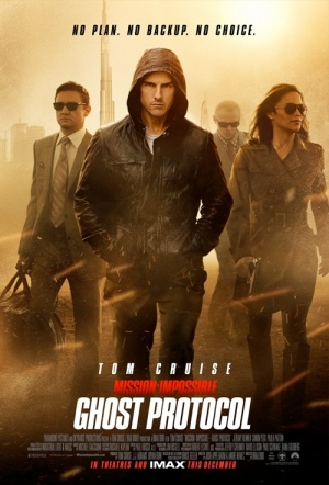 Mission: Impossible - Ghost Protocol Film Poster
