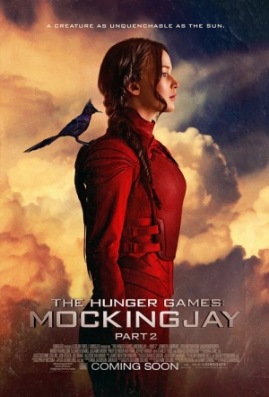 The Hunger Games 3D: Mockingjay - Part 2 Film Poster