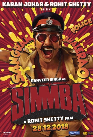 Simmba Film Poster