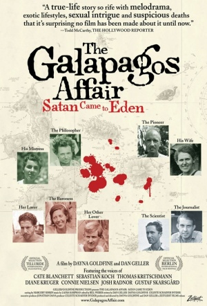 The Galapagos Affair: Satan Came to Eden Film Poster