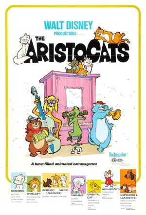 The Aristocats Film Poster