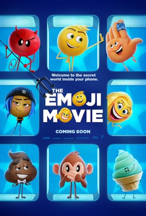 The Emoji Movie 3D Film Poster