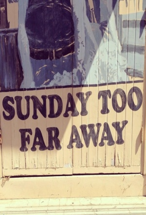 Sunday Too Far Away Film Poster