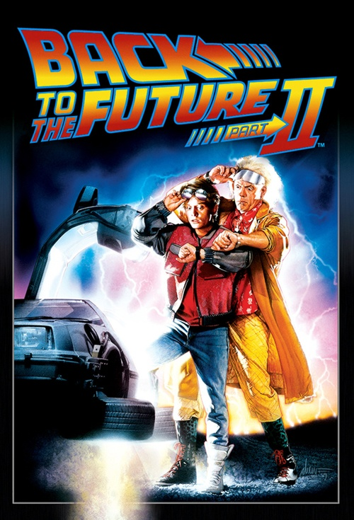 Back to the Future Part II Film Poster