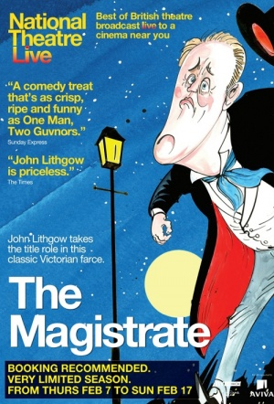 NT Live: The Magistrate Film Poster