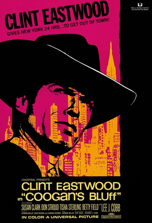 Coogan's Bluff Film Poster