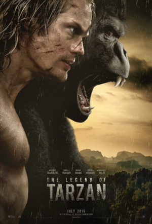 The Legend of Tarzan 3D Film Poster