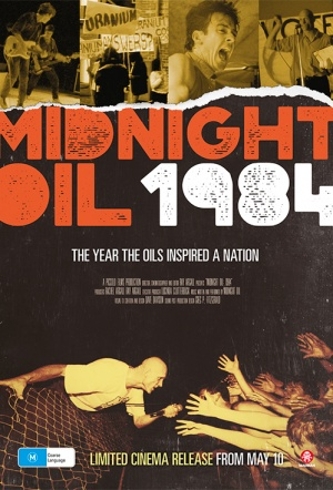 Midnight Oil 1984 Film Poster