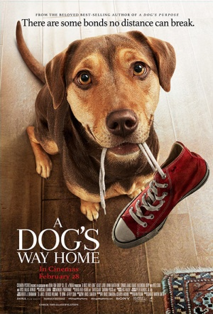 A Dog's Way Home Film Poster