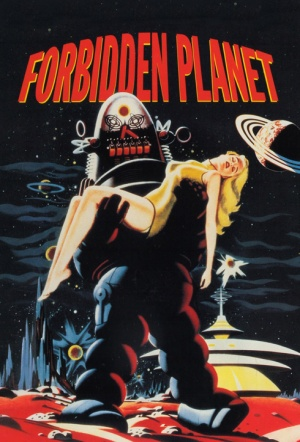Forbidden Planet Film Poster