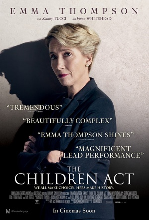 The Children Act Film Poster