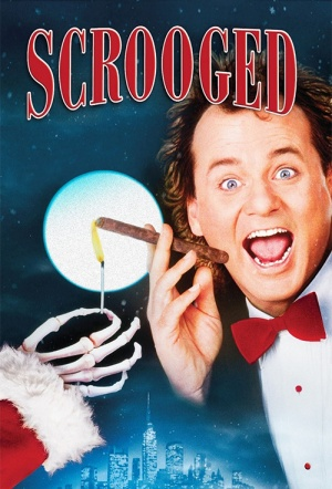 Scrooged Film Poster
