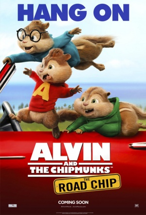 Alvin and the Chipmunks: The Road Chip 3D Film Poster