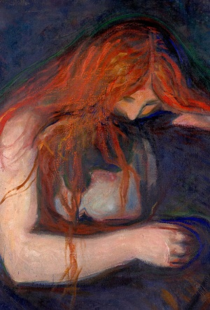 Munch: Love Phantoms and Lady-Vampires