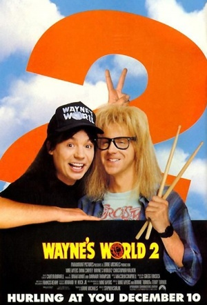 Wayne's World 2 Film Poster