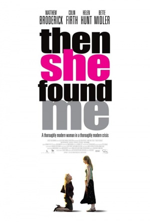Then She Found Me Film Poster
