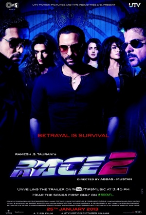 Race 2 Film Poster
