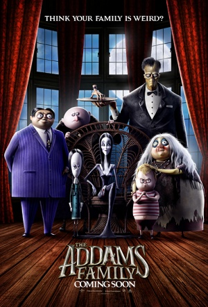 The Addams Family (2019) Film Poster