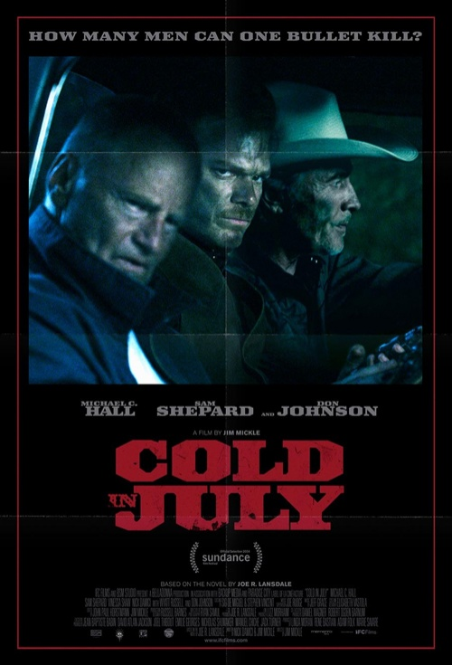 Cold in July Film Poster