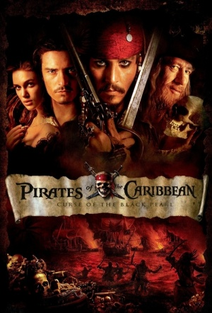 Pirates of the Caribbean: The Curse of the Black Pearl Film Poster